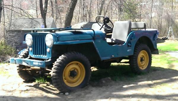 1947 CJ-2A Worcester, MA $8,000 | eWillys