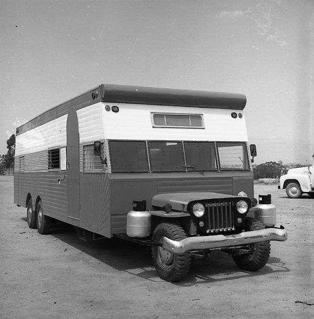 6 1950 Flatfender Camper Negatives On Ebay