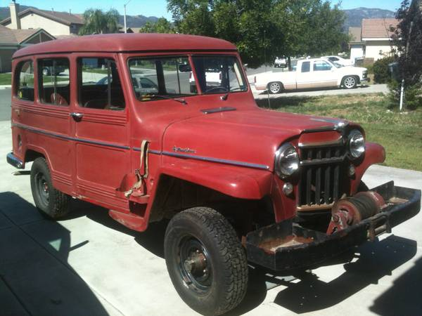 Willys Wagon for Sale Craigslist