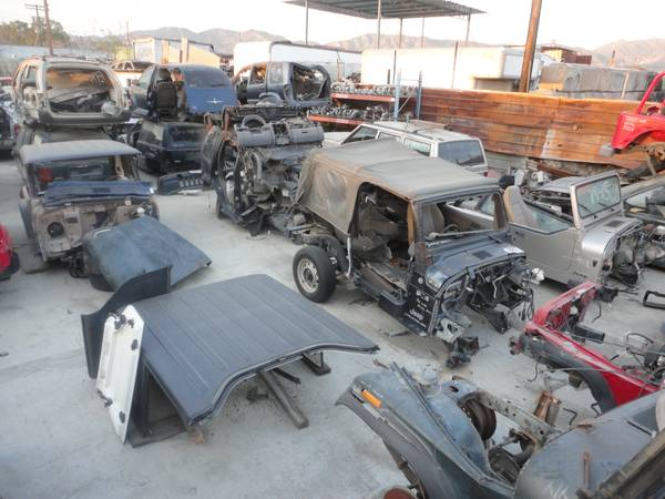 Used Jeep Wrangler Parts >> Parts Used Or Salvage Ewillys