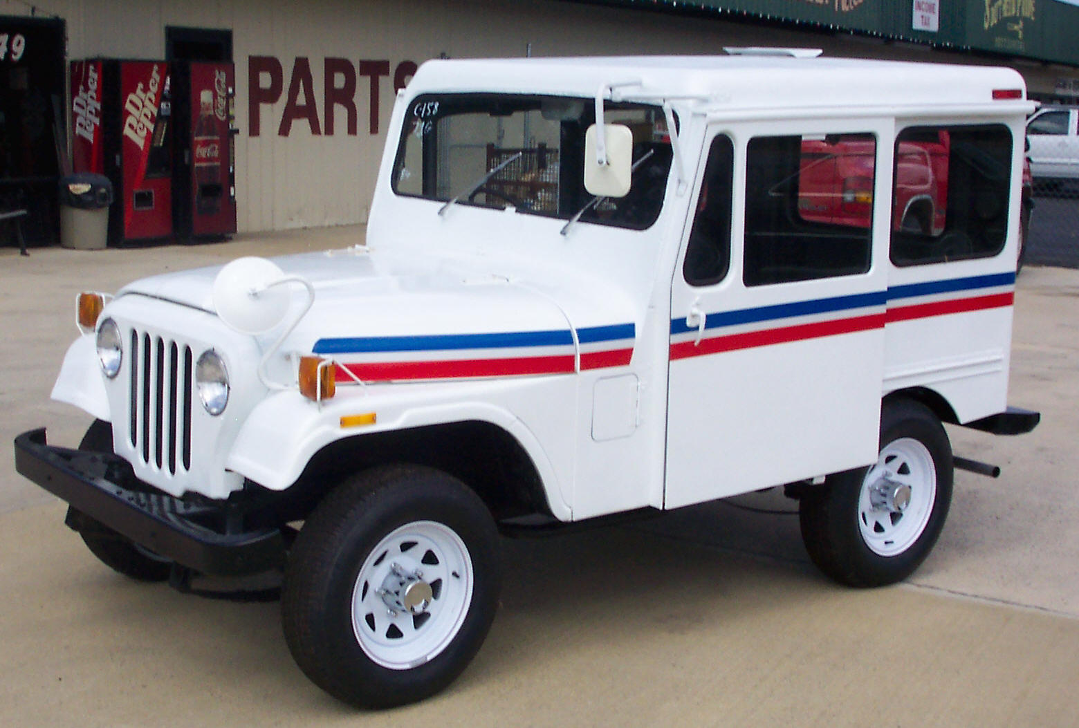 Postal Jeep Parts Website Ewillys