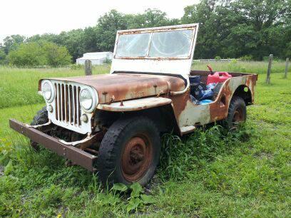 1946 CJ-2A Kenosha, WI $1000   eWillys