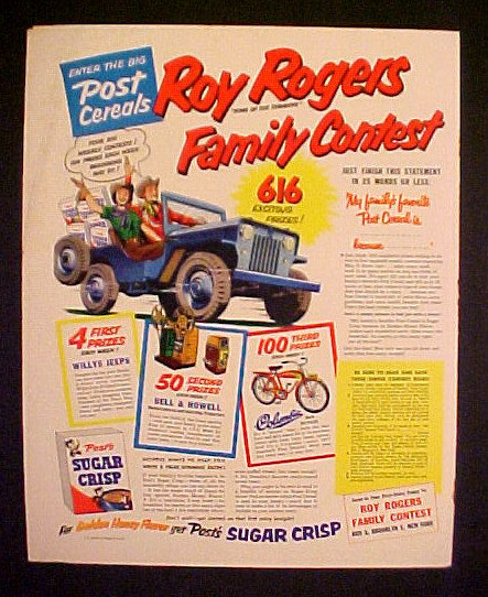 1954-roy-rogers-sugar-crisp-contest