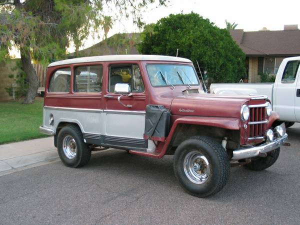 Willys Jeep For Sale Craigslist Jeepster Station Wagon ...