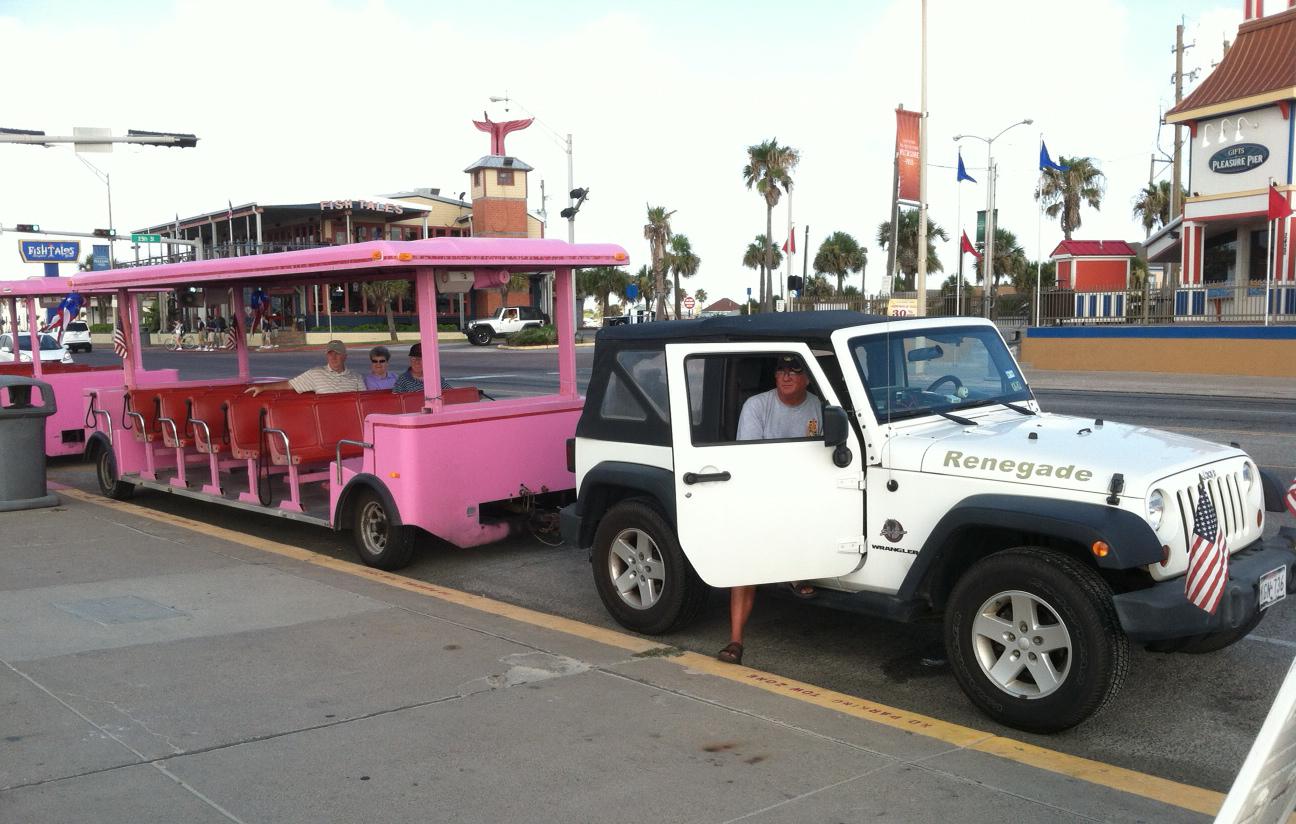 Jeep Train in Galveston, TX | eWillys