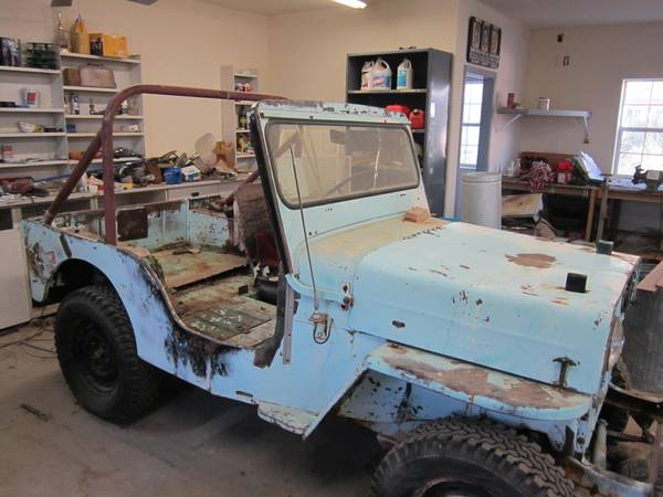 Craigslist Mohave County Az >> 1953 CJ-3B Mohave County, AZ $1200   eWillys