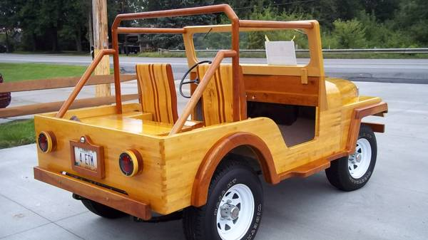 1960 Wooden Jeep Collegestation Oh3
