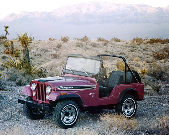 CJ-5 Renegade Stripes from the Early 1970s | eWillys