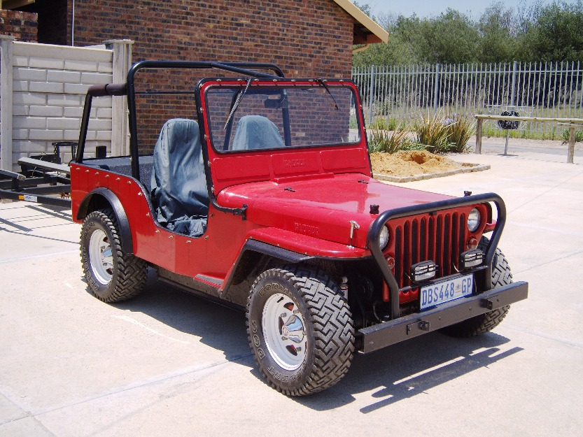 A Couple South African Jeeps Ewillys