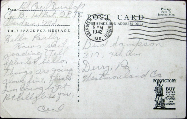 1942-postcard-aberdeen-bantam-brc40
