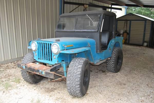1946 Cj 2a China Spring Tx 4900 Ewillys