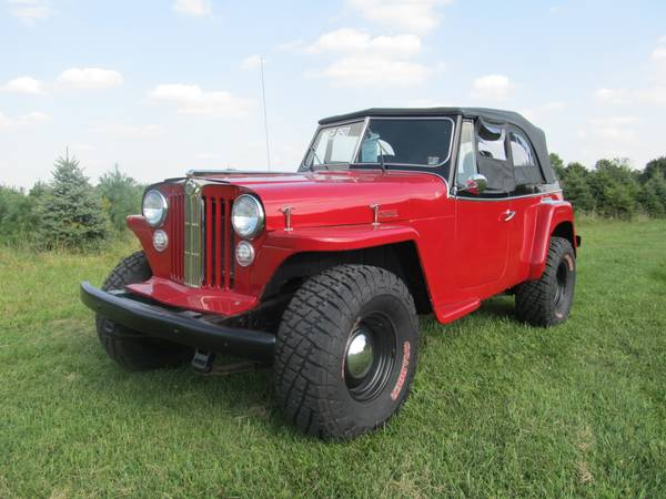 1948 Jeepster Mount Zion Pa 12 950 Ewillys