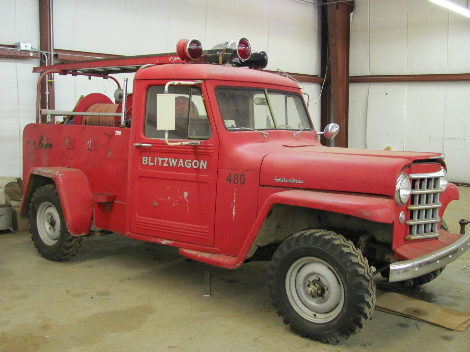 1951 Dodge Power Wagon M37 3 4 Ton 230 Engine Fully Restored For Sale