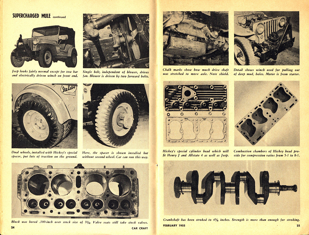 Vic Hickey's Supercharged Flathead from Car Craft Magazine   eWillys