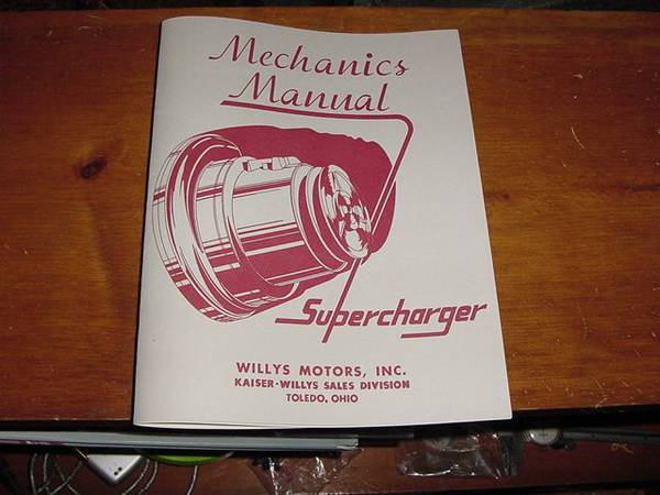 VS-57 McCulloch Supercharger Toledo, OH **SOLD** | eWillys
