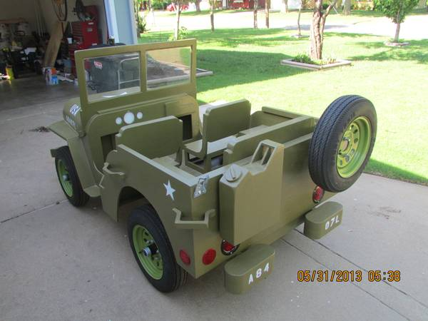 Build Your Own Golf Cart Kit >> Mini Jeep Body Plans Pictures to Pin on Pinterest - ThePinsta