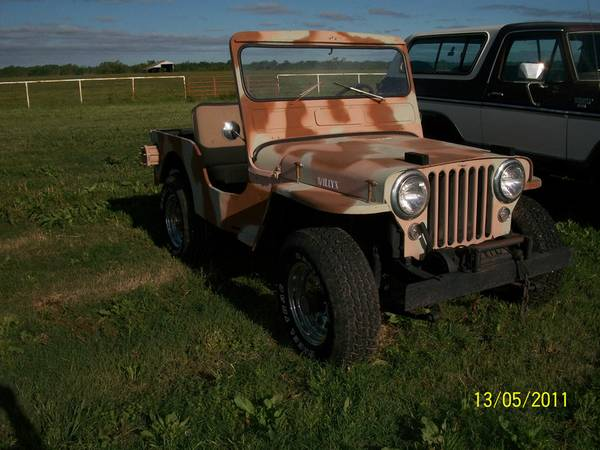 1950 Cj 3a Purcell Ok 10 000 Ewillys