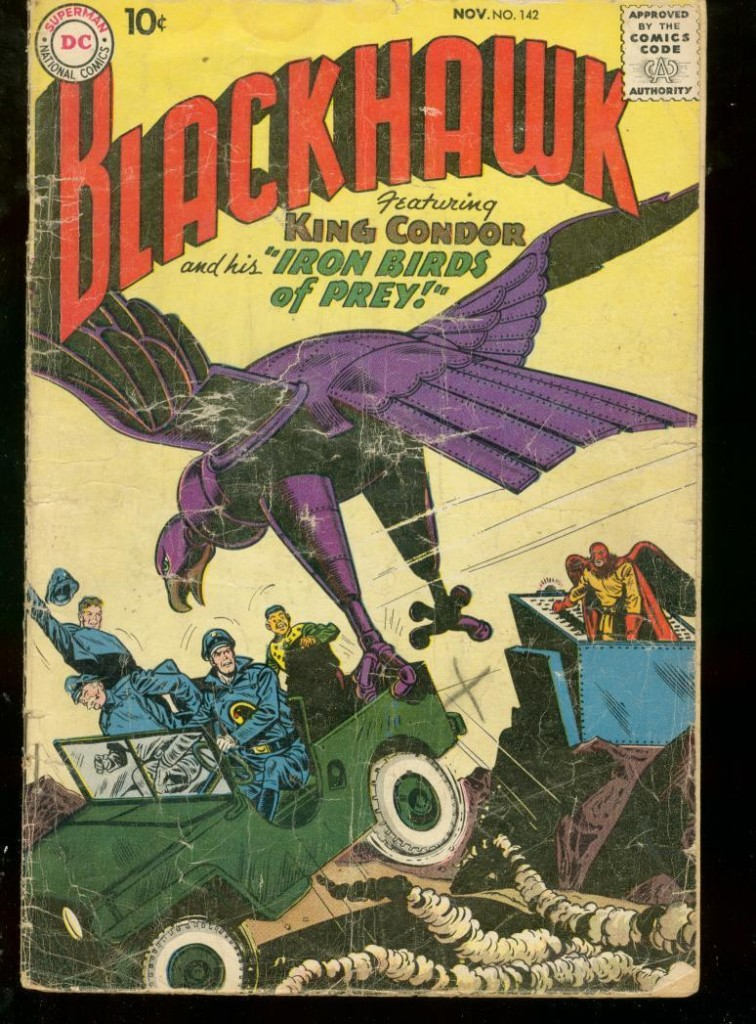 1959-11-blackhawk-comic-cover