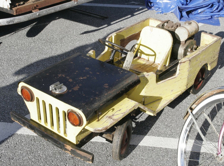 Homemade(?) Jeep Go Kart | eWillys