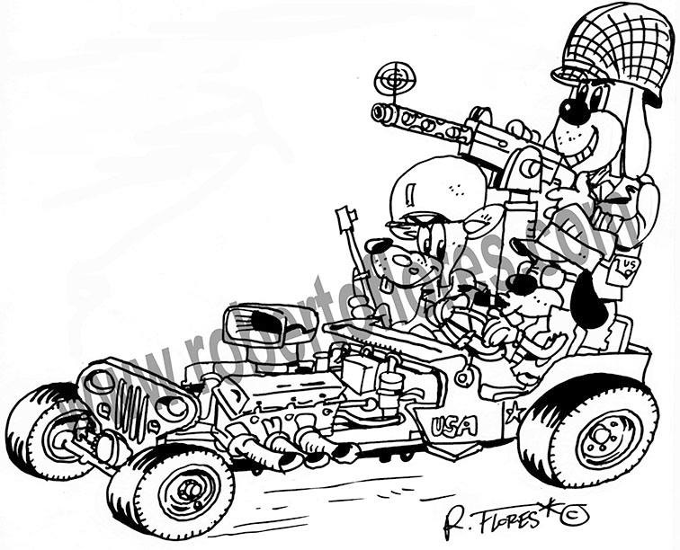 Jeep Side View Drawing Robert-flores-jeeprod