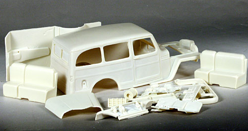 wagon-model-resin