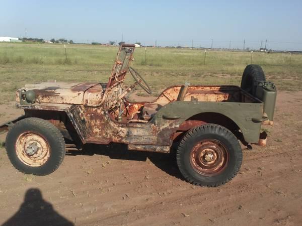 1943 MB Lubbock, TX **SOLD** | eWillys