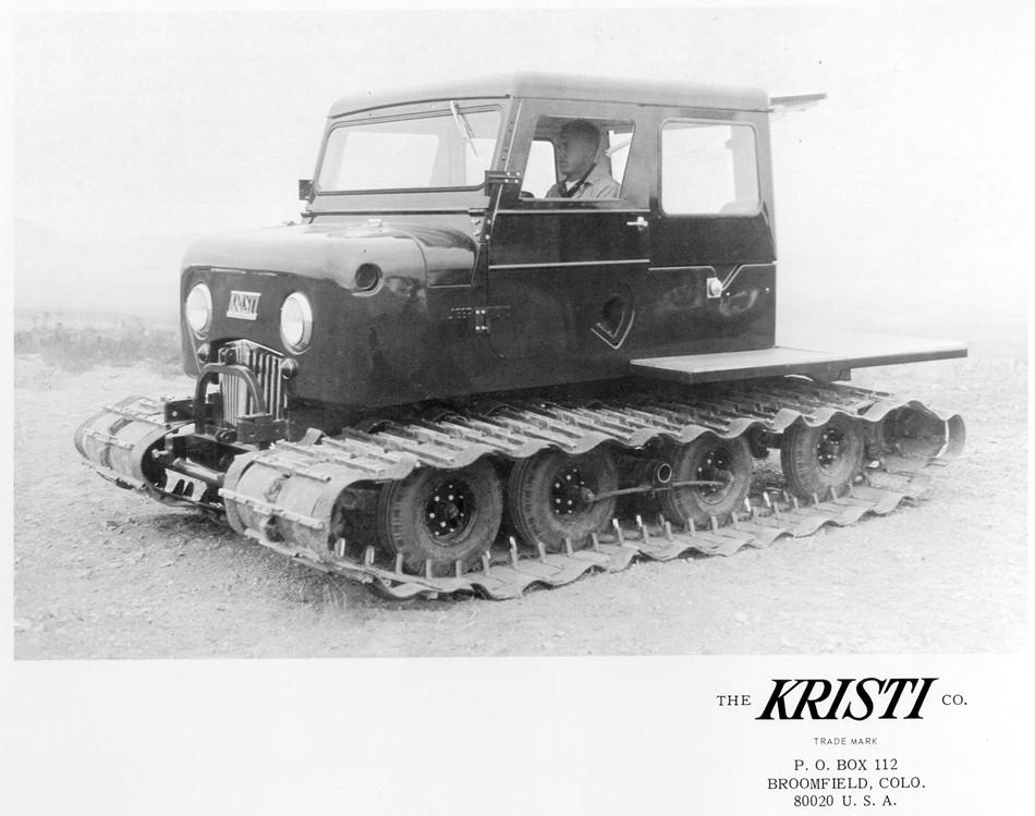 1964 Kristi Snow Cat Model KT-4G | eWillys