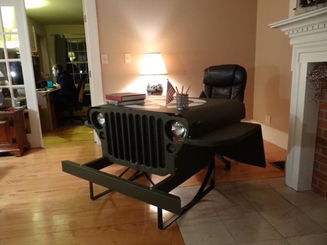 Mb jeep desk on ebay ewillys for Front room furniture sale