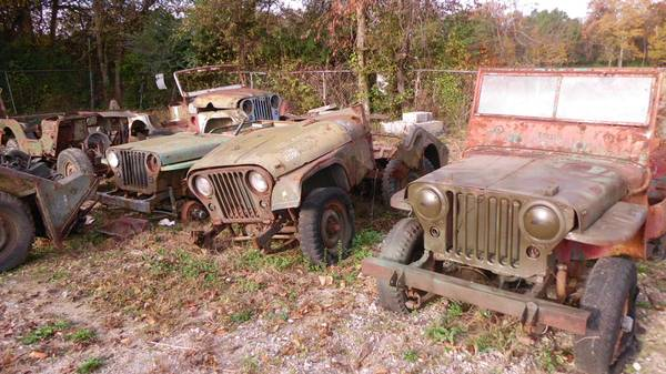 Parts Used or Salvage | eWillys