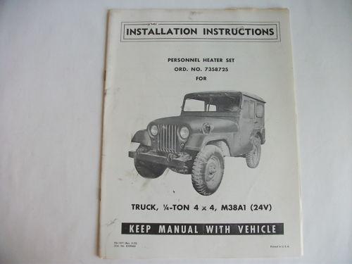 stewart-warner-978-heater-manual