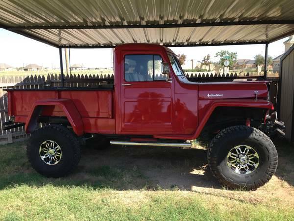 willys jeep pickup for sale on craigslist autos post. Black Bedroom Furniture Sets. Home Design Ideas