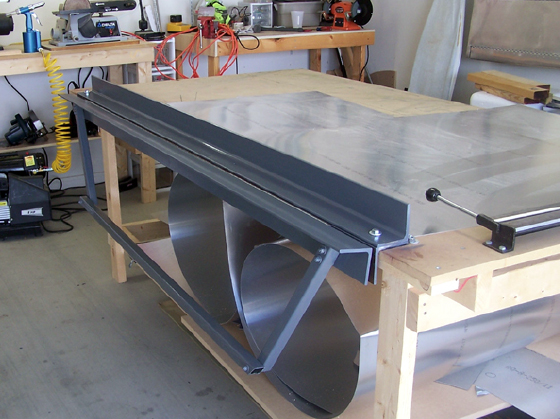 how to make a sheet metale bender