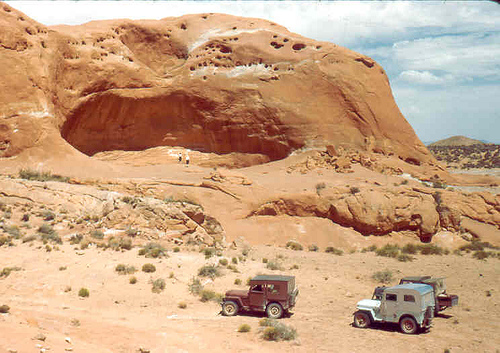 1955-trip-to-hole-in-the-rock1