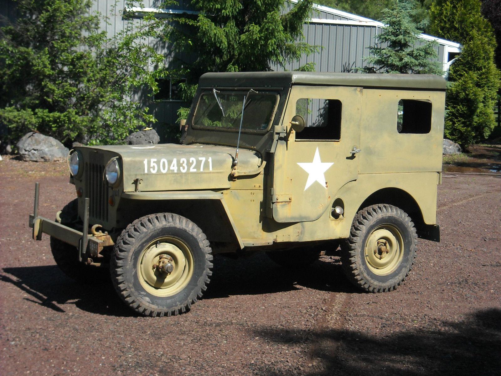 M 606 military CJ 3B