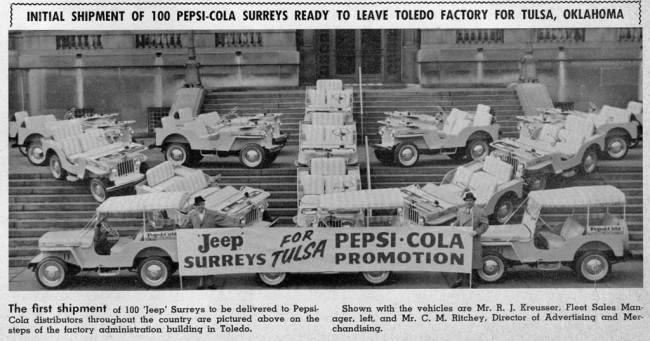 Oklahoma Pepsi Surreys