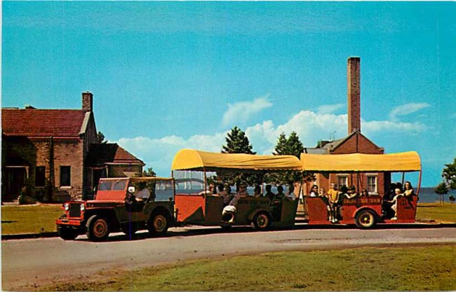 fort-dexter-mackinawcity-mi-jeeptrain-postcard1