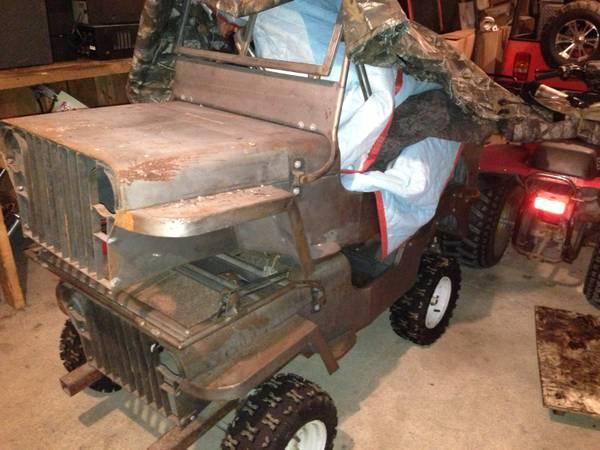 2 Steel Mini-Jeep Bodies Hudson, NY **Status Unknown ...