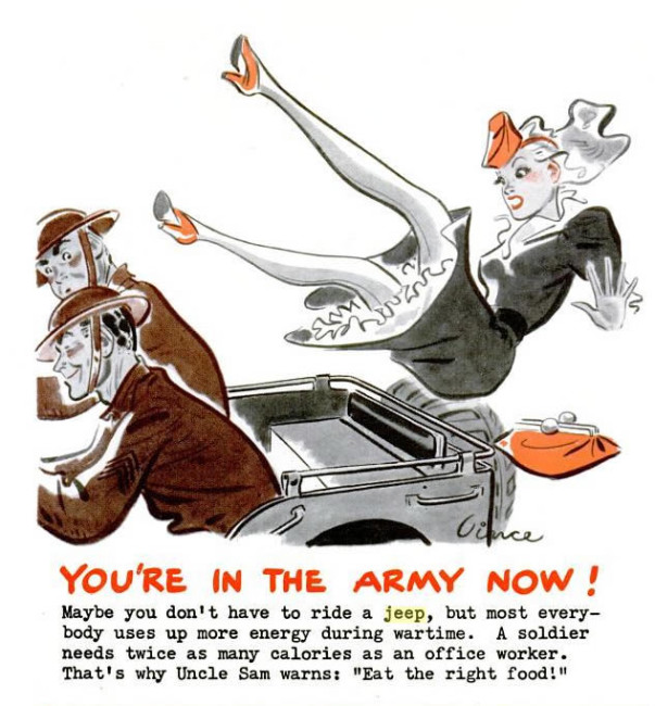 1942-06-08-life-magazine-youre-in-the-army-now-ad