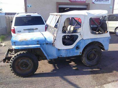 1947 CJ 2A Phoenix AZ $400