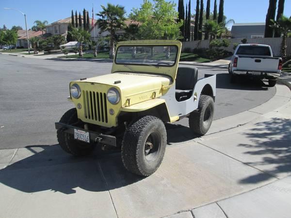 1953 CJ-3B Inland Empire, CA $4000 | eWillys