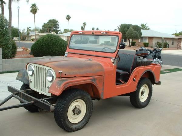 1963 Jeep Cj5 Bing Images