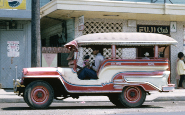 Old Jeepney From The Philippines Ewillys