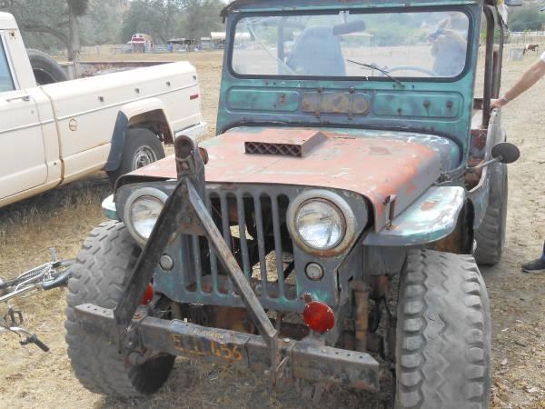 1946 CJ-2A Clovis, CA $1100 | eWillys