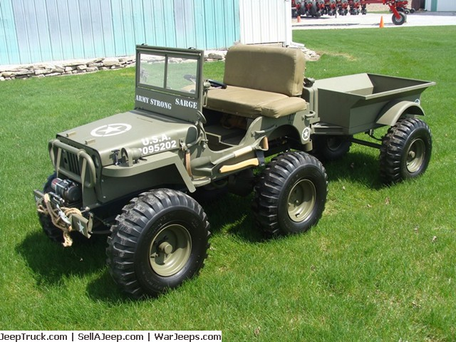 Jeeps For Sale In Md >> Mini-Jeep w/ Trailer Frankenmuth, MI **SOLD** | eWillys