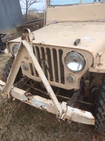 Year? CJ-2A Lawton, OK $2000 | eWillys