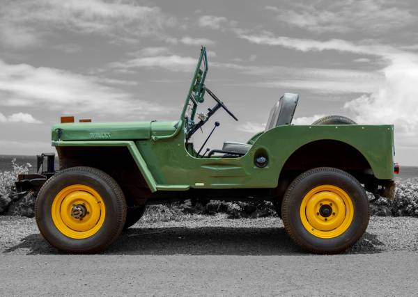 Perfect Pasture Green Jeep Paint