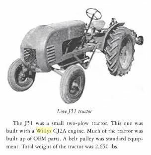 love-tractor-model-j51