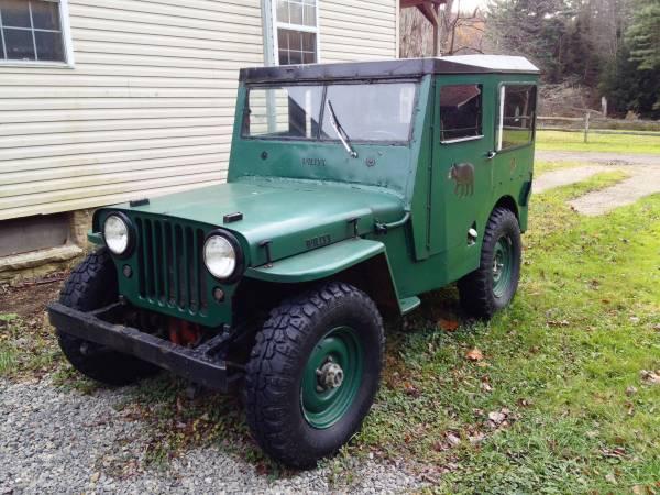 1945? CJ-2A Clarion, PA $5000 | eWillys