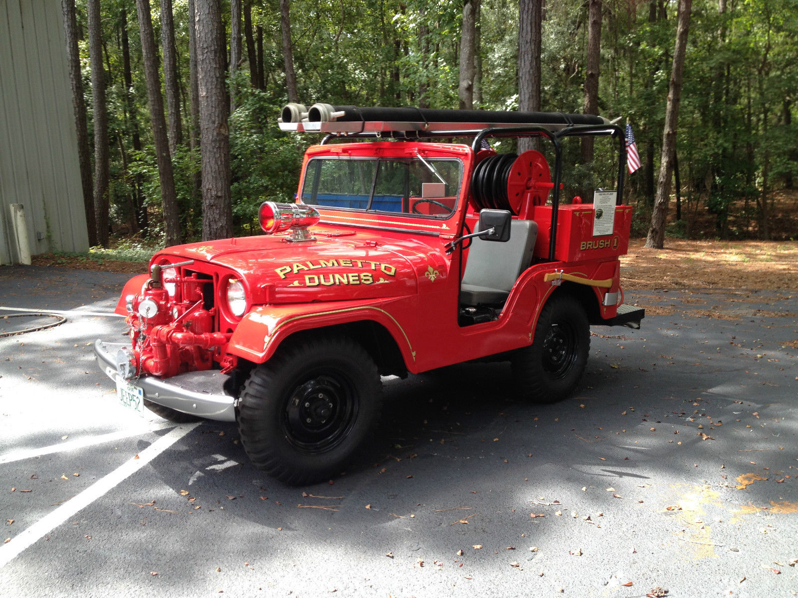 1952 m 38a1 fire jeep nashua nh status unknown