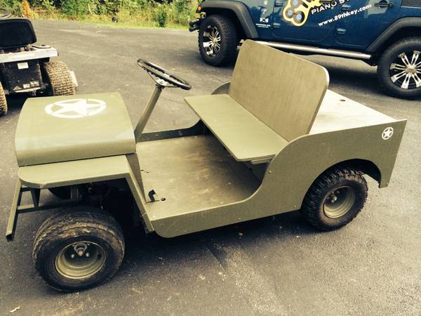 Jeep-themed Golf Cart Ofallon, MO **SOLD** | eWillys on garden tractors that look like jeeps, trucks that look like jeeps, cars that look like jeeps, suvs that look like jeeps,